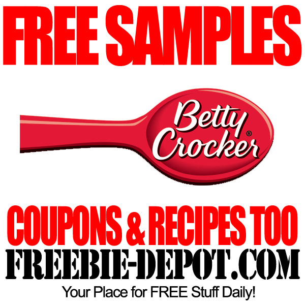 FREE Coupon and Recipes from Betty Crocker