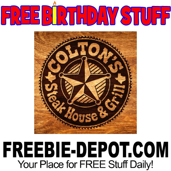 FREE BIRTHDAY STUFF – Colton's Steak House & Grill