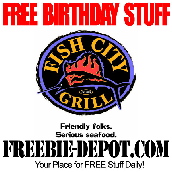 Free Birthday Meal at Fish City Grill