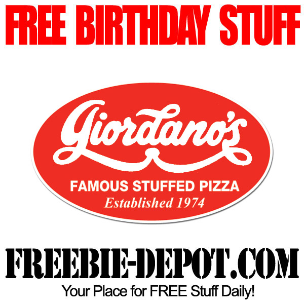 Free Italian Birthday Dessert at Giordanos