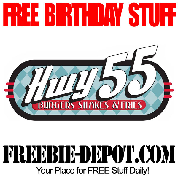 Free  Birthday Burger at Hwy 55