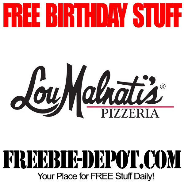 Free Birthday Reward at Lou Malnati's