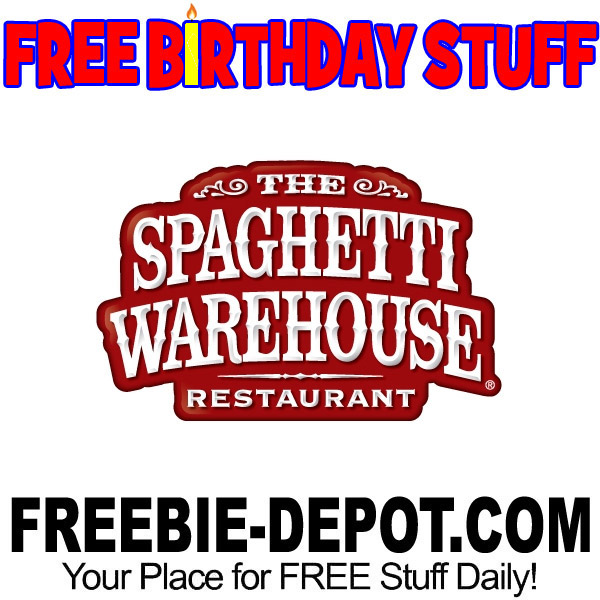 Spaghetti Warehouse located in Toledo, Ohio and also about 20 other cities around the United States states on their website plus you can sign up in person at their place to get a free spaghetti dinner on your birthday.