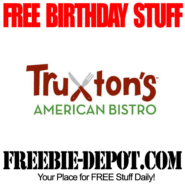 Free Birthday Bistro Meal