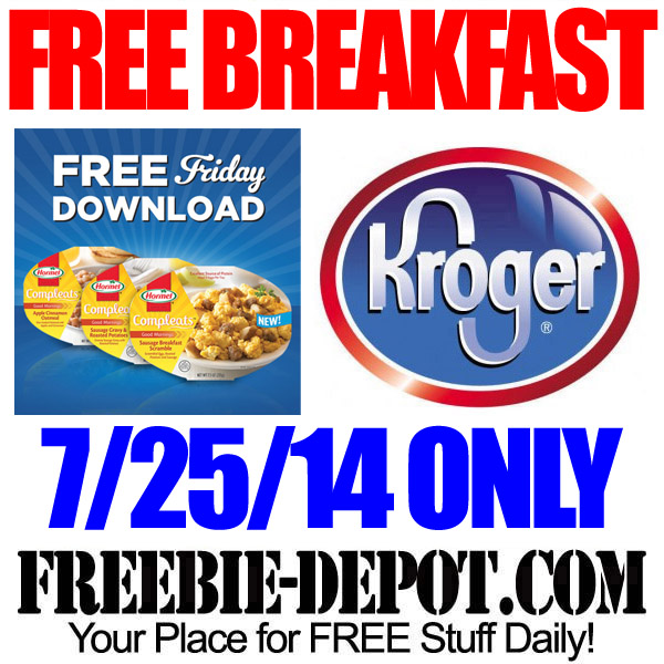 Free-Breakfast-Meal-Kroger