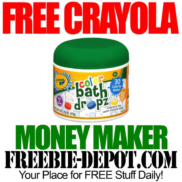 Free Crayola Bath Drops