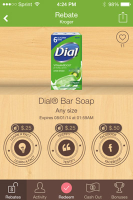 Free 2 Pack Dial Soap
