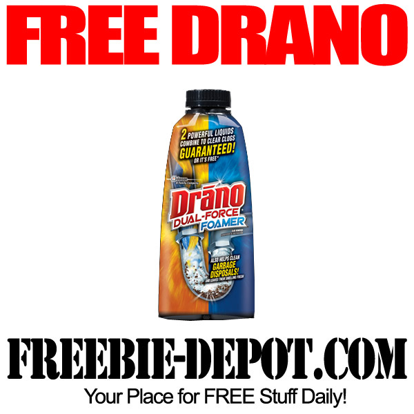 Free Drano Drain Cleaner