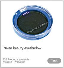 Free Nivea Eyeshadow