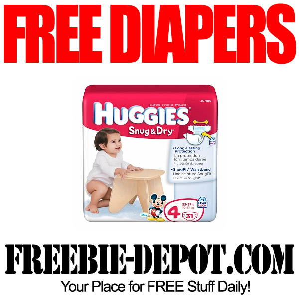 Free Huggies Jumbo Pack of Diapers