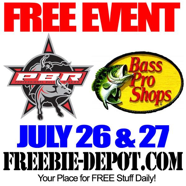 Free PBR Bass Pro Event