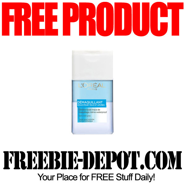 Free Product Testing LOreal