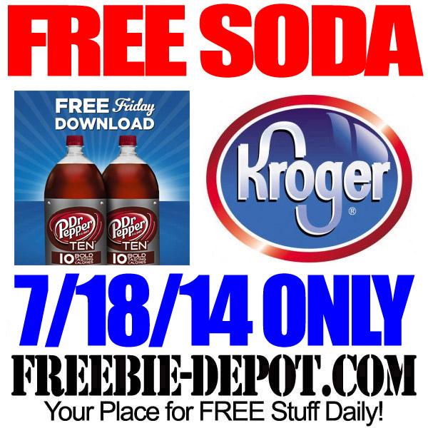 Free Soda Kroger