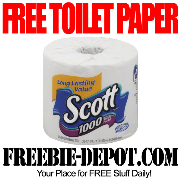 Completely Free Toilet Paper