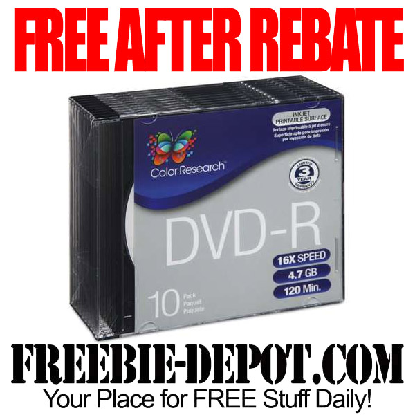 Free After Mail In Rebate DVD-Rs