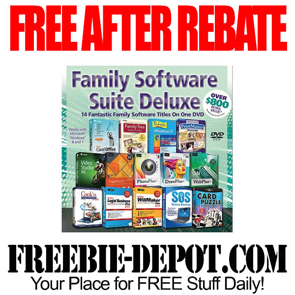 Free After Rebate Family Software