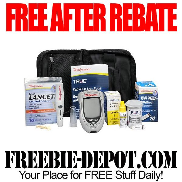 Free After Rebate Glucose Monitor Kit