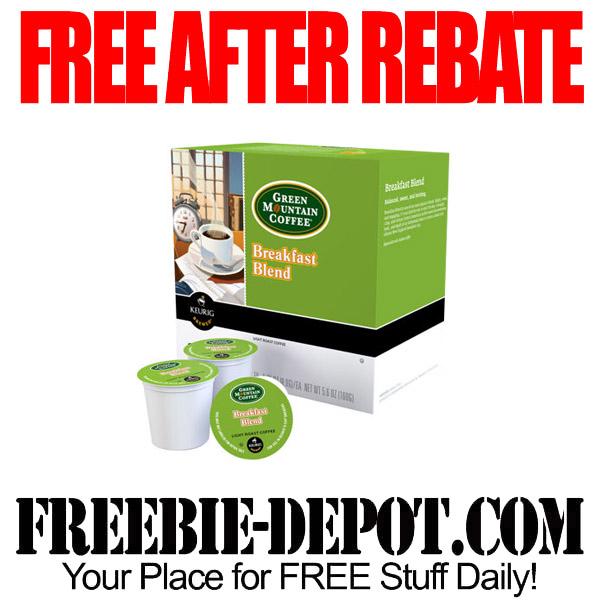 Free After Rebate K-Cups Coffee