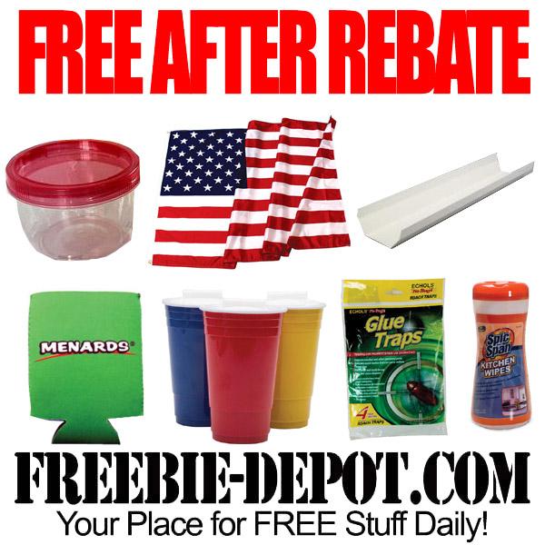 Free After Rebate Labor Day Menards