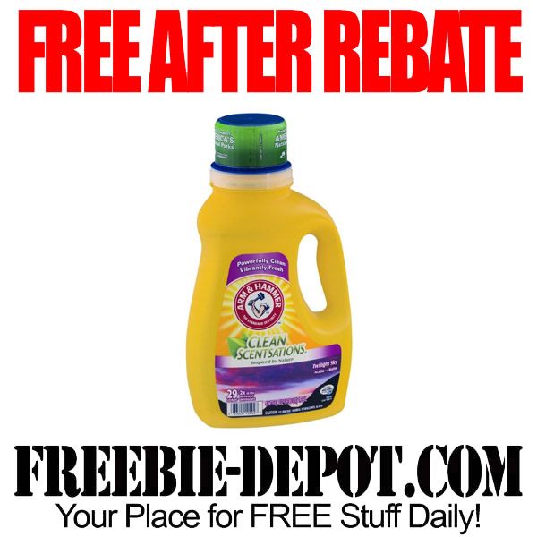 Free After Rebate Laundry Detergent