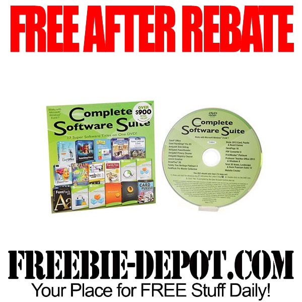Free After Rebate Software Suite