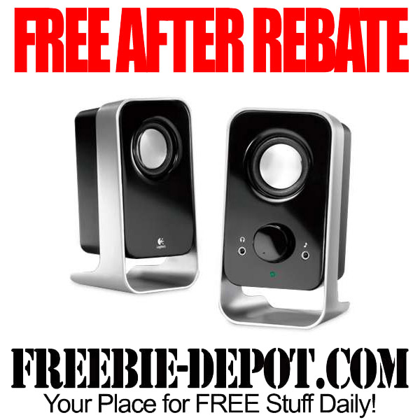 FREE After Rebate Stereo Speakers