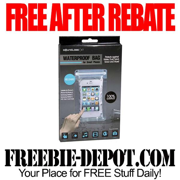 Free After Rebate Waterproof Phone Bag