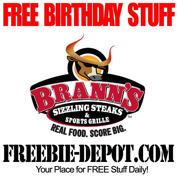 Free Birthday Steak at Branns
