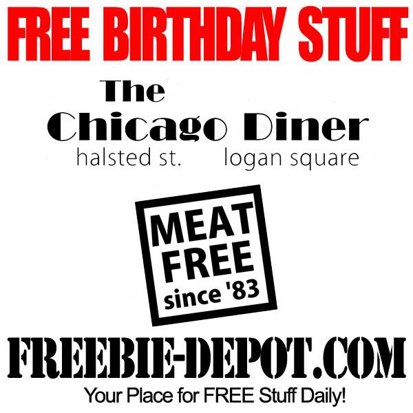 FREE BIRTHDAY STUFF – The Chicago Diner