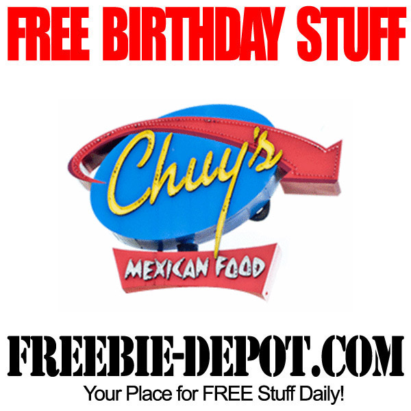 Free Birthday Chuys
