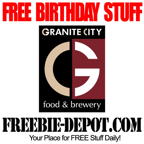 FREE BIRTHDAY STUFF – Granite City Food & Brewery – Birthday Freebie Appetizer – FREE BDay Food