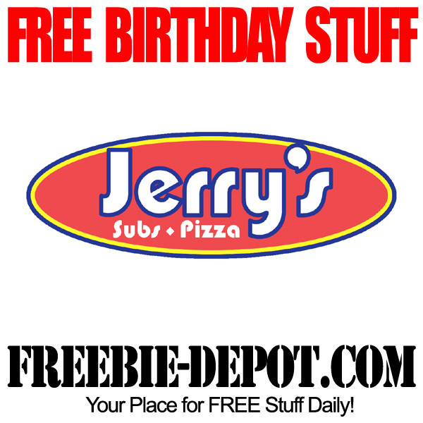 Free Birthday Sandwich at Jerrys Subs