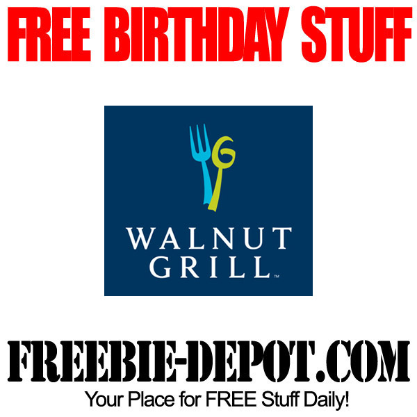 Free Birthday Entree at Walnut Grill