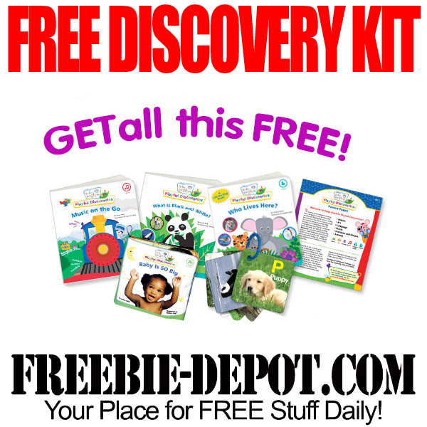 Free Discovery Kit for Kids