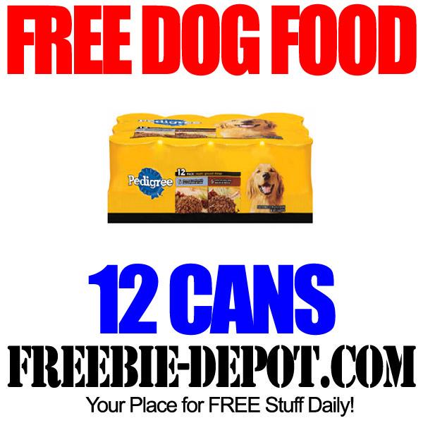 FREE Case of Dog Food