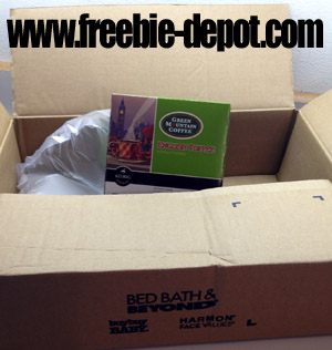 Free Box of Coffee K-Cups
