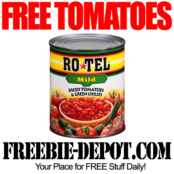 Free Ro-Tel Tomatoes