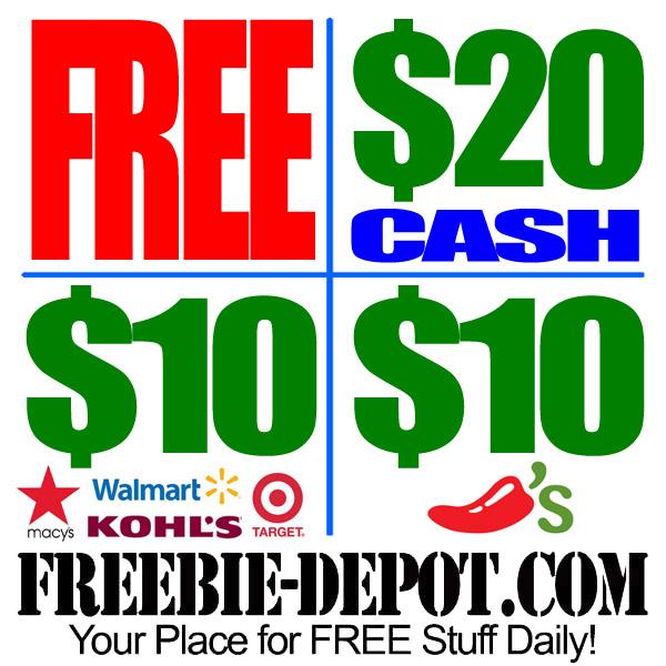 Free $20 $10 $10