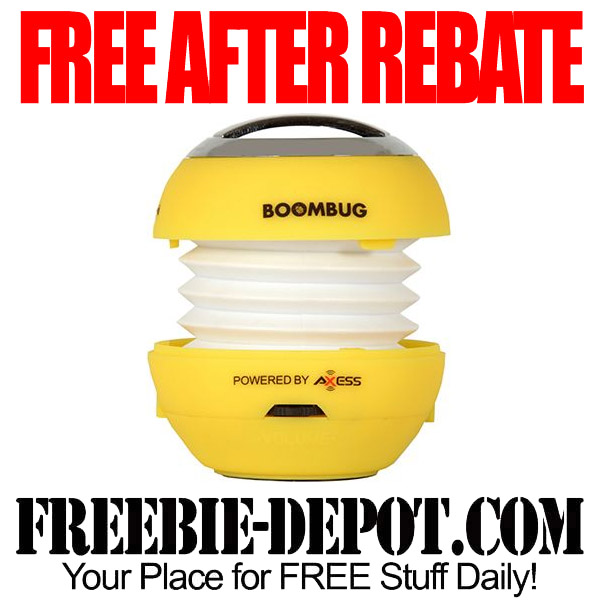 Free After Rebate Bluetooth Speaker