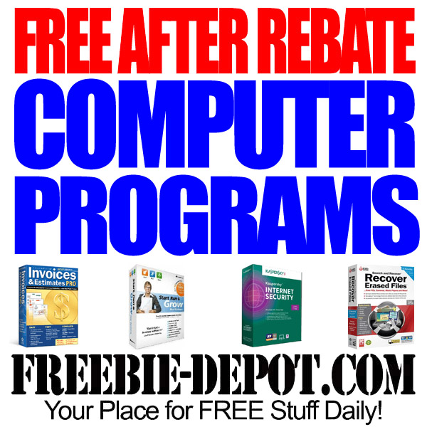 Free After Rebate Computer Programs