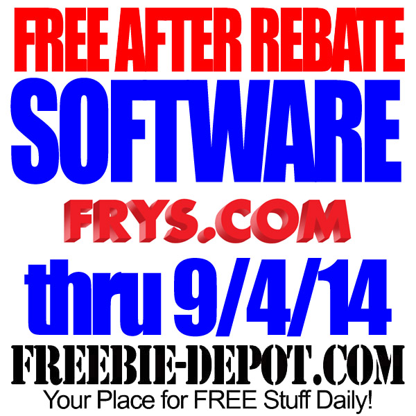 Free After Rebate from Frys