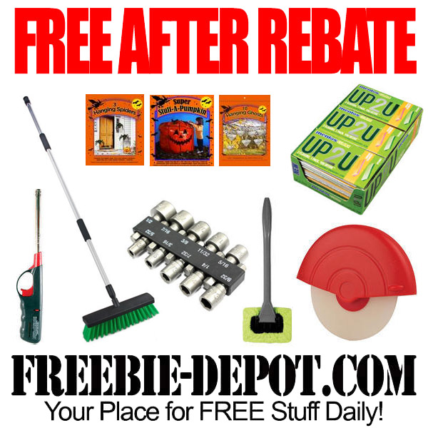 Free After Rebate Halloween Menards