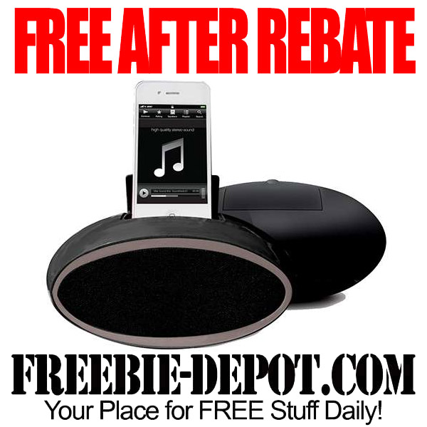 FREE After Mail In Rebate Speakers Oval