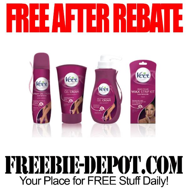 Free After Rebate Veet
