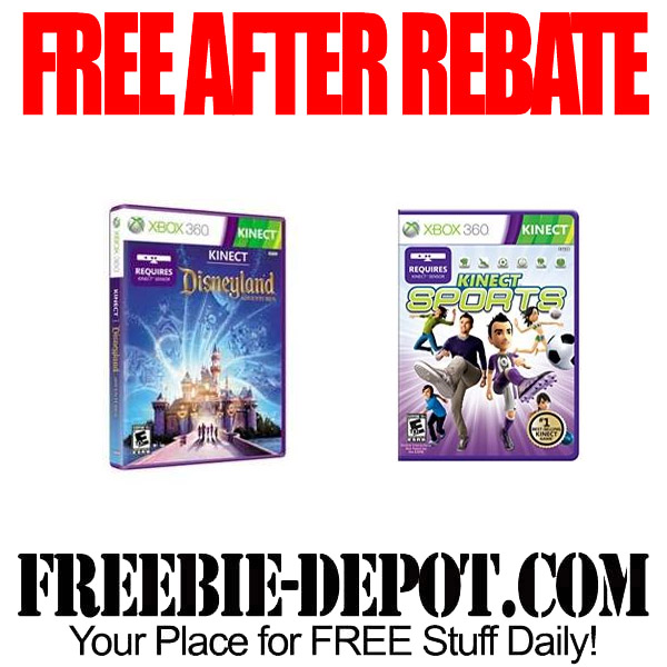 Free After Rebate XBOX Games