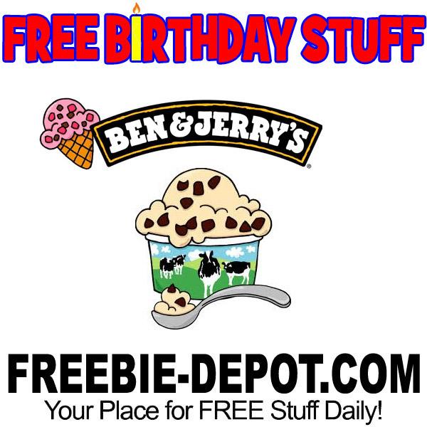 BIRTHDAY FREEBIE – Ben & Jerry's Scoop Shops | Freebie Depot