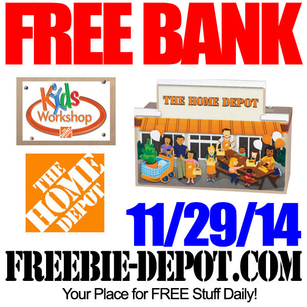 Free Bank at Home Depot