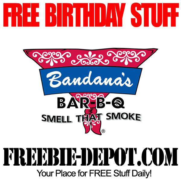Free Birthday Bandanas