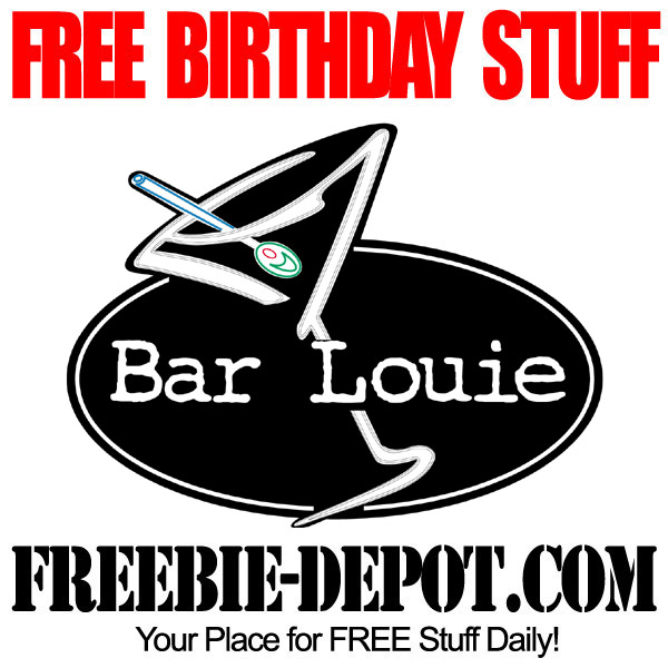 Free Birthday Food at Bar Louie