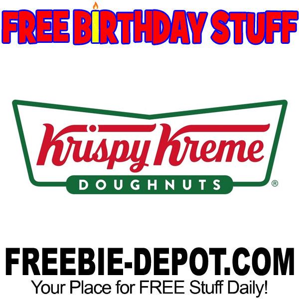 BIRTHDAY FREEBIE – Krispy Kreme Doughnuts
